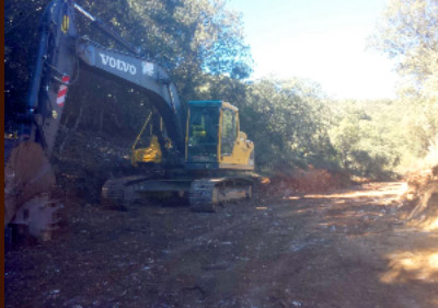 Obras y aprovechamientos forestales