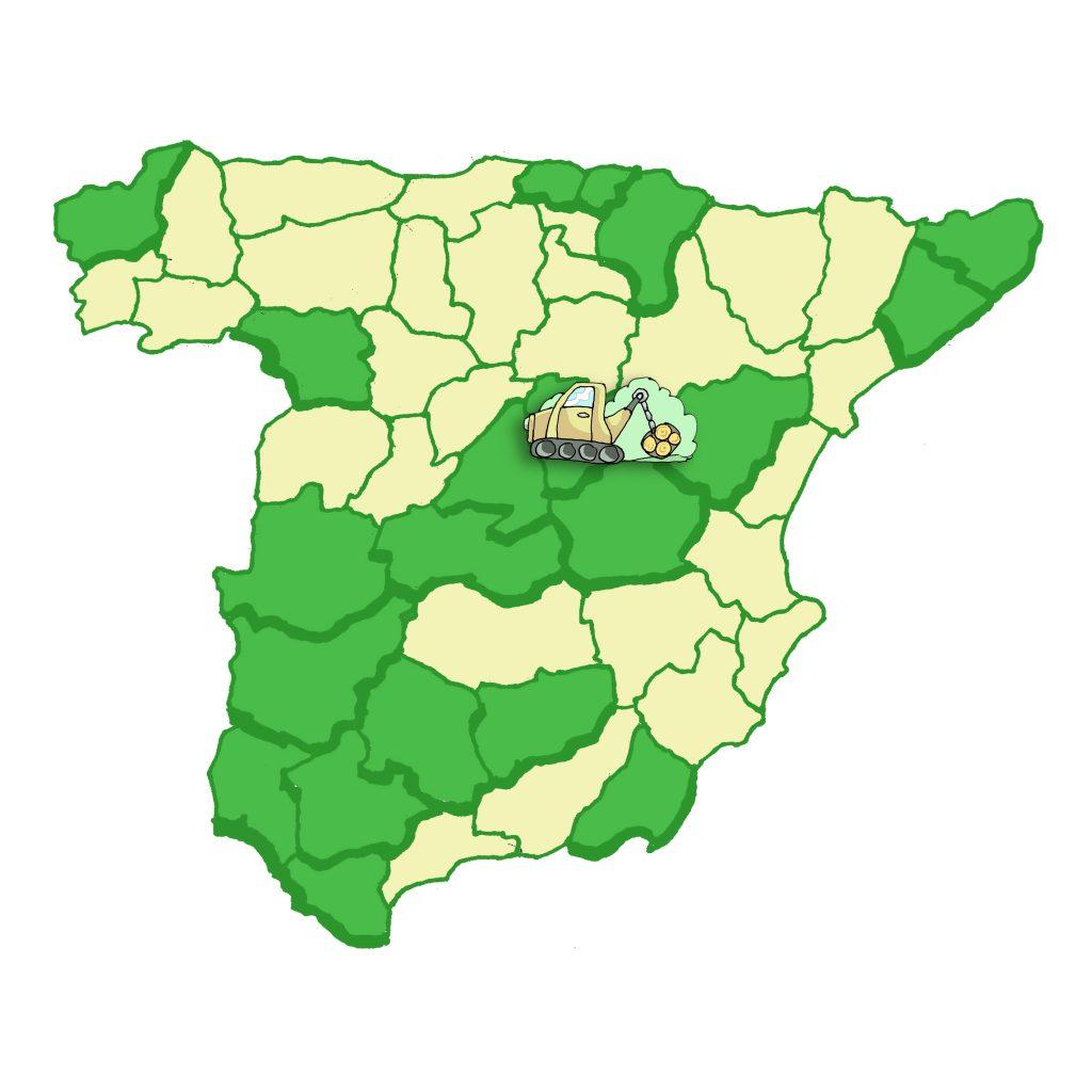 Mapa Obra Forestal
